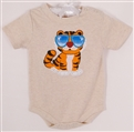 Body dla chlopca Tiger in sunglasses 68cm